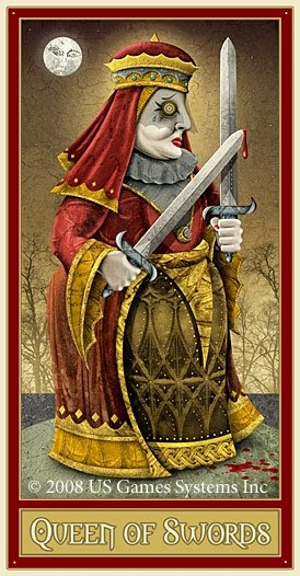 The Queen Of Swords As Advice