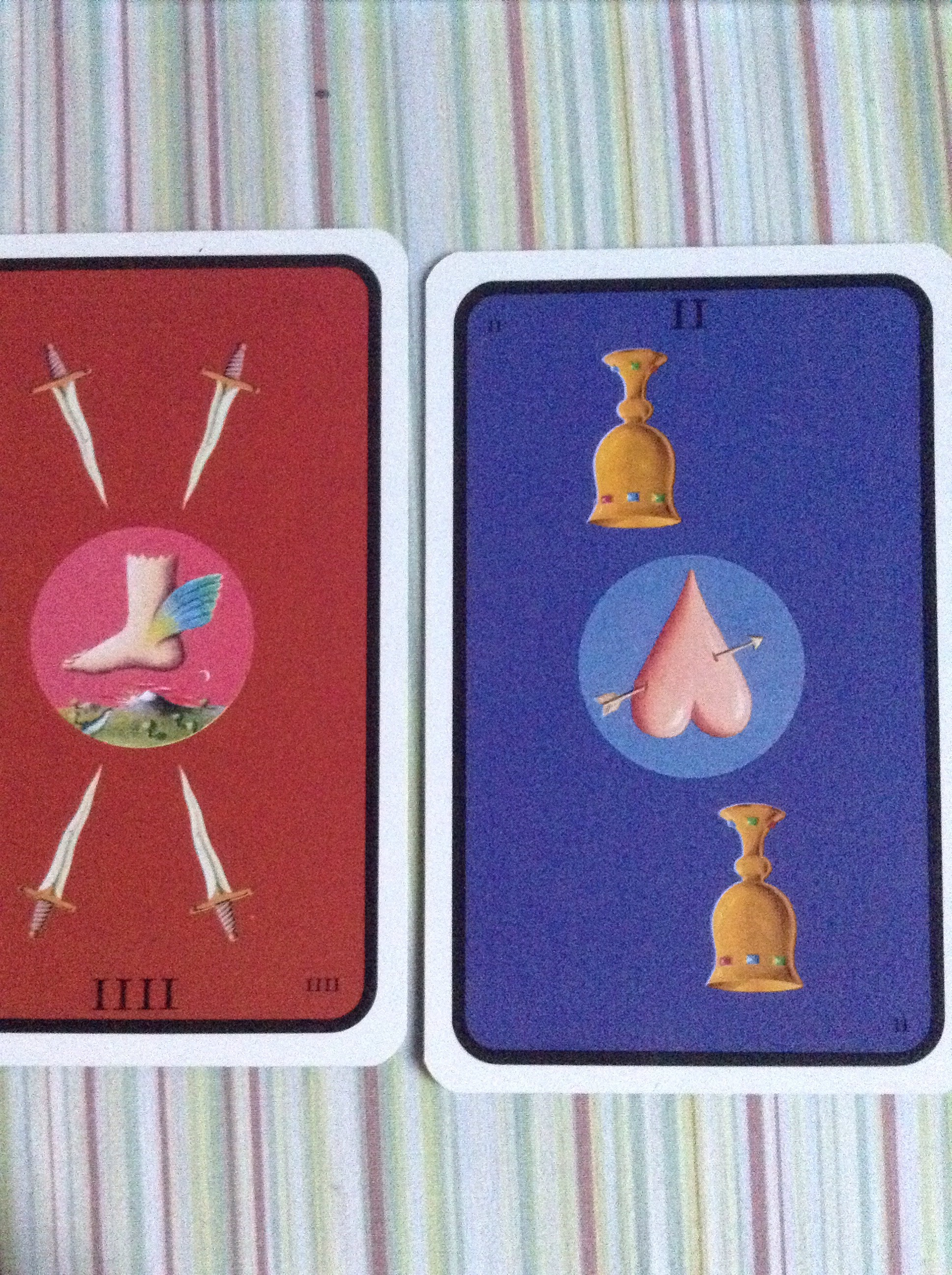 4 Of Swords And 2 Of Cups Rx As Advice