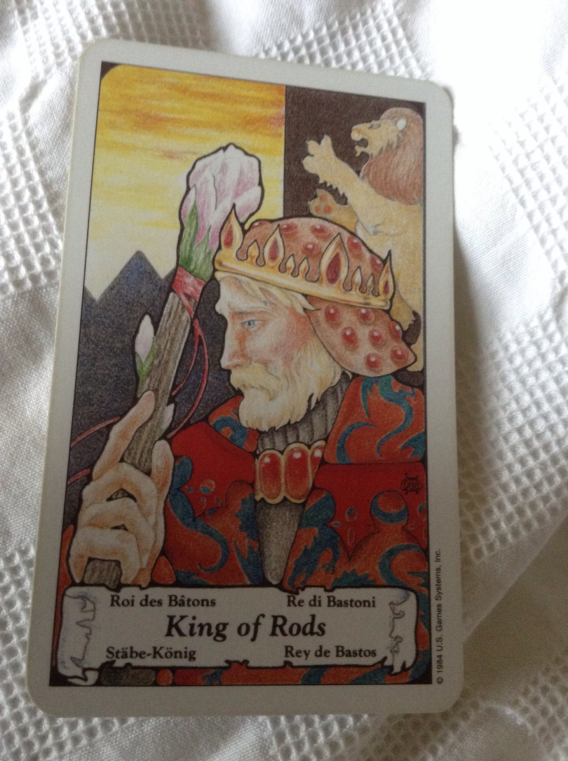 King Of Wands As Advice