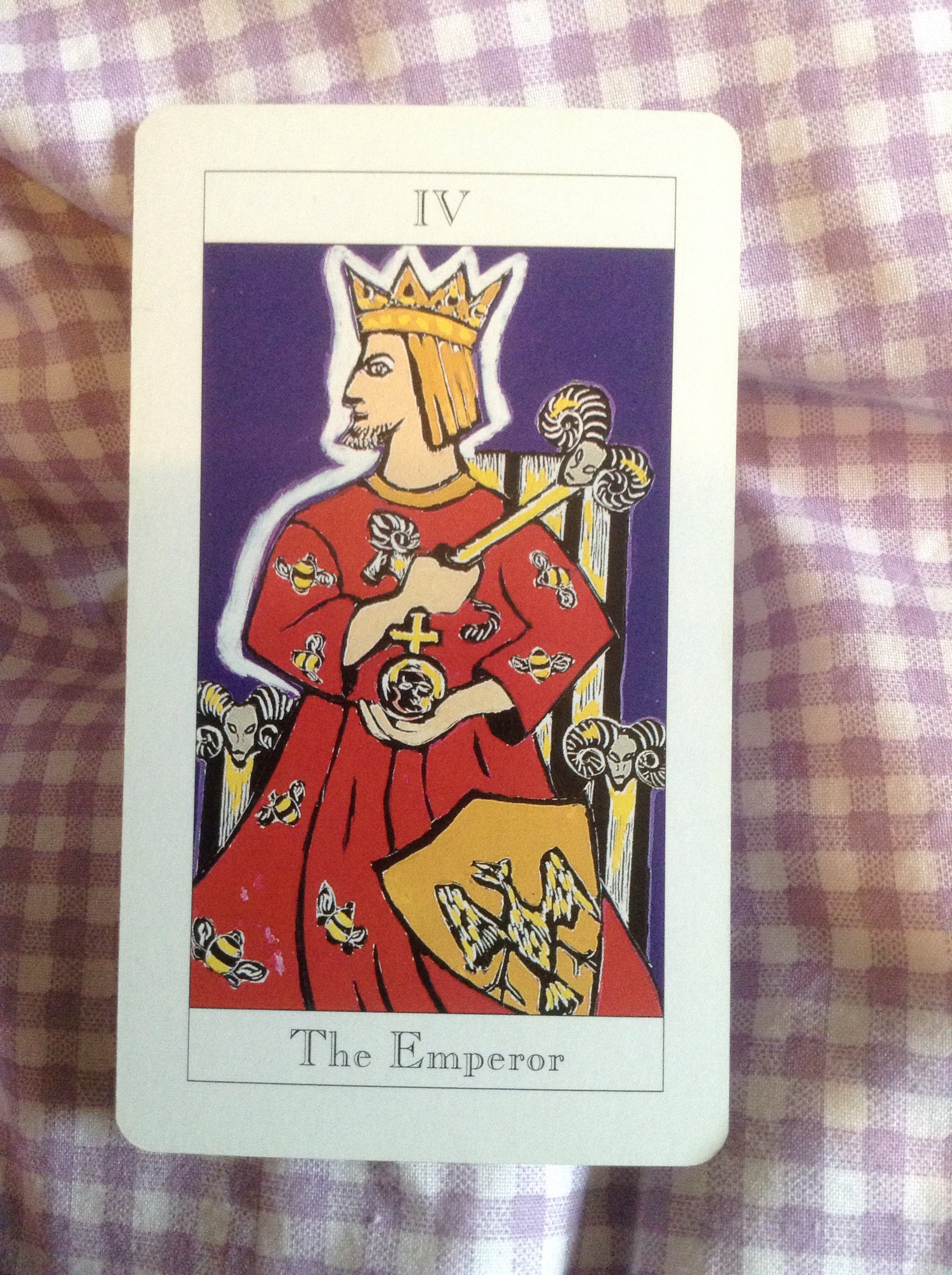 Advice For Today From The Tarot, The Emperor Card