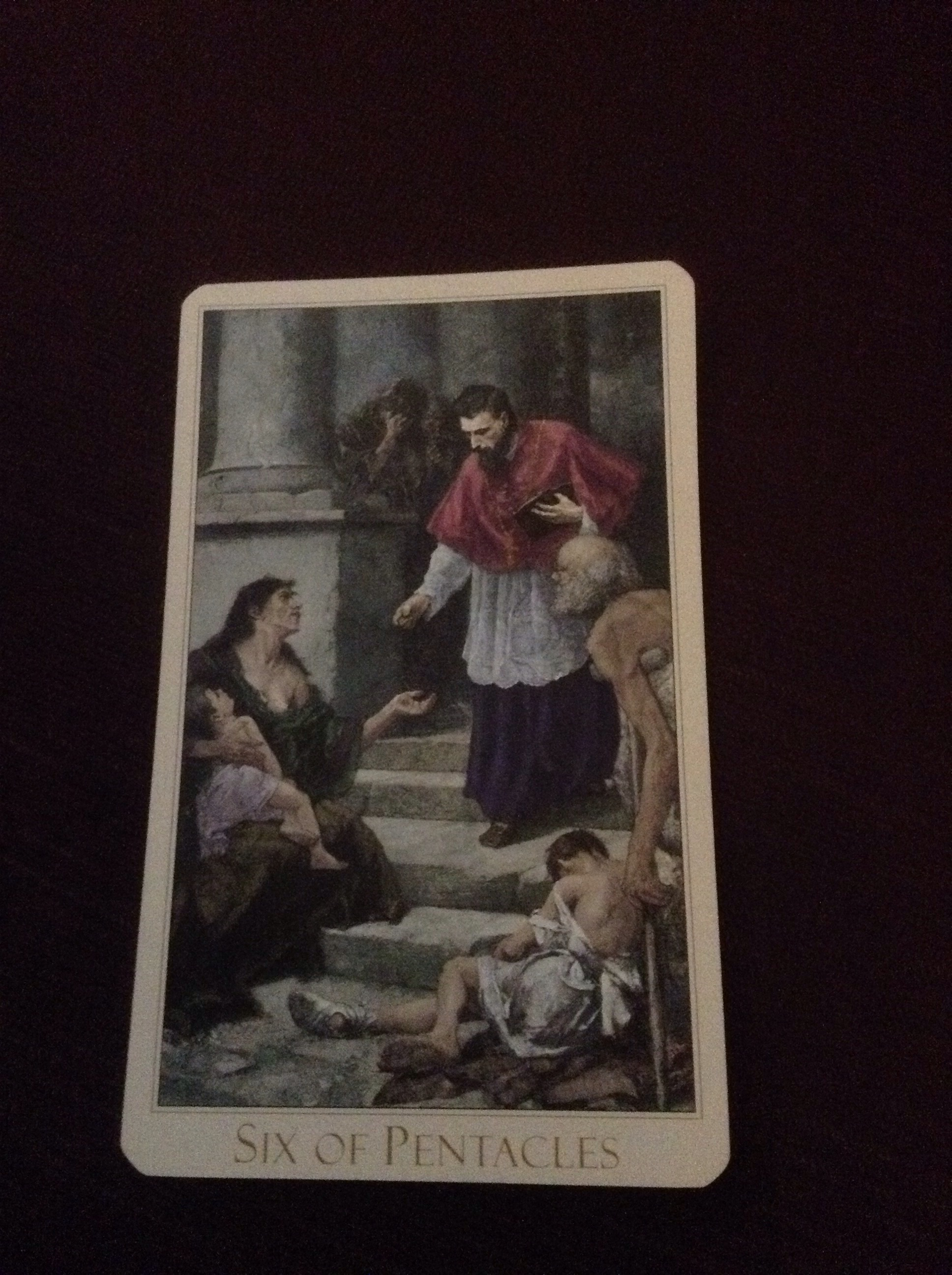 6 Of Pentacles As Advice