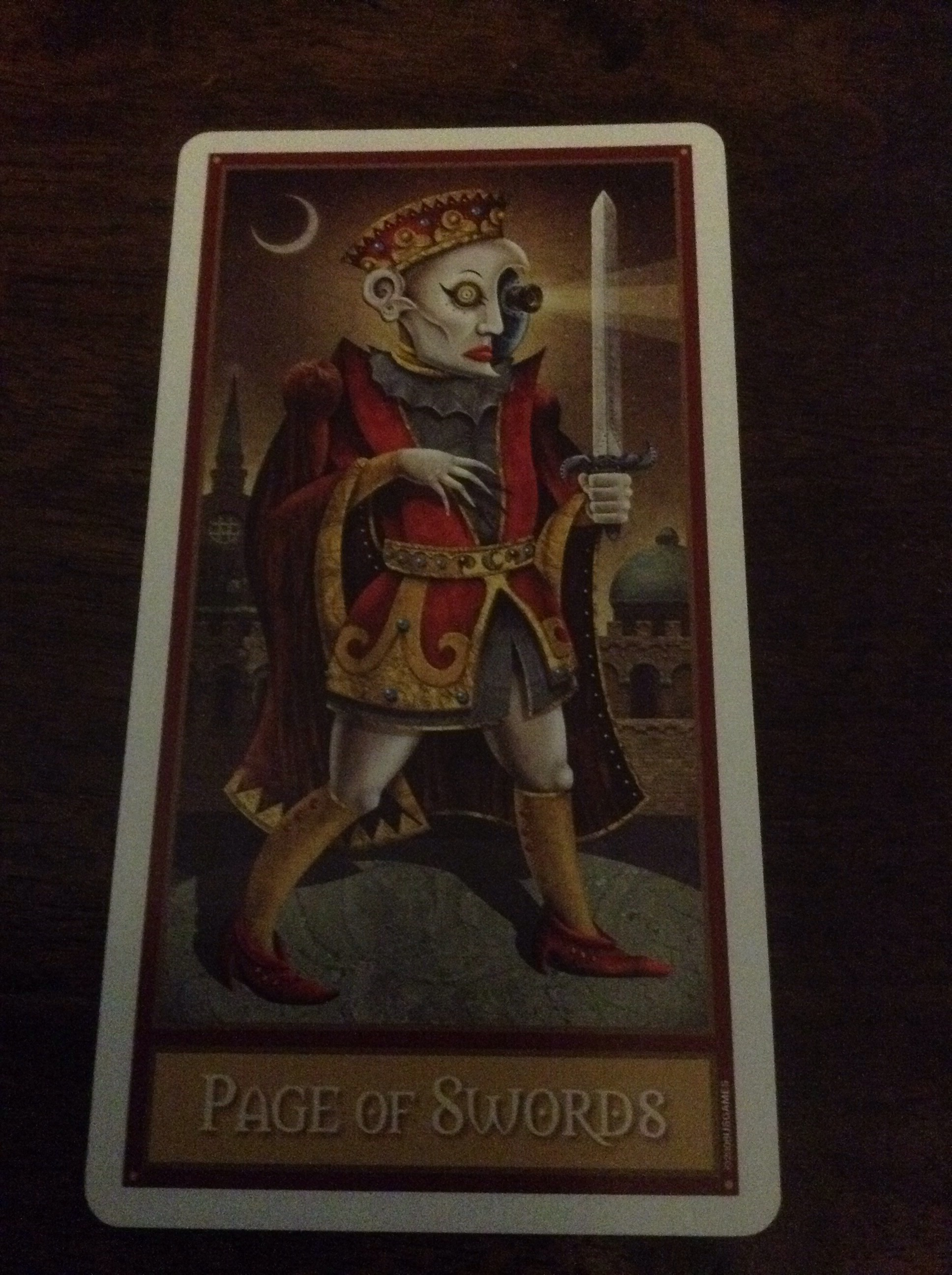 Understanding Tarot The Star: Page Of Swords As Advice