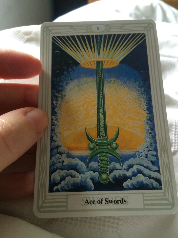 Ace Of Swords As Advice